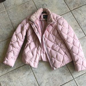 Eddie Bauer Pink Puffer Jacket